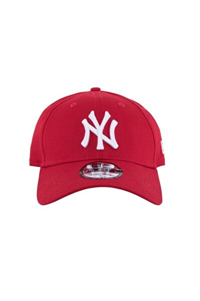 Şapka - 9forty League Basic New York Yankees Scarlet/optic White