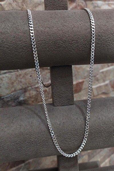 Gümüş 2,80 Mm Gurmet Boyun Zinciri Kolye Tu78e9