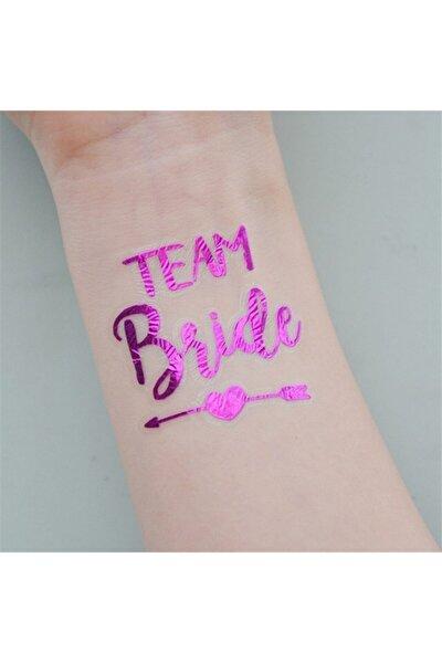 10 Adet Bride To Be Geçici Dövme - Purple