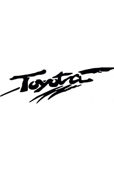 Toyota Sticker Araba Yapıştırması