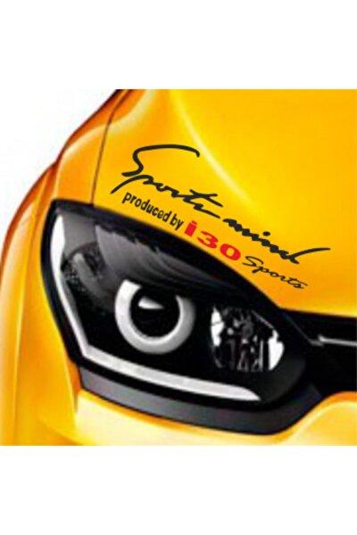 Hyundai İ30 Mind Far Üstü Oto Sticker Kaput