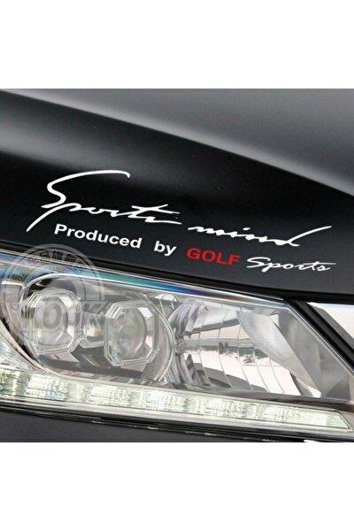 Golf Mind Sport Araba Tampon Araç Sticker Yapıştırma
