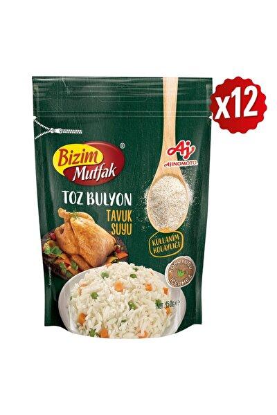 Toz Tavuk Suyu Bulyon 150 Gr 12'Li Paket