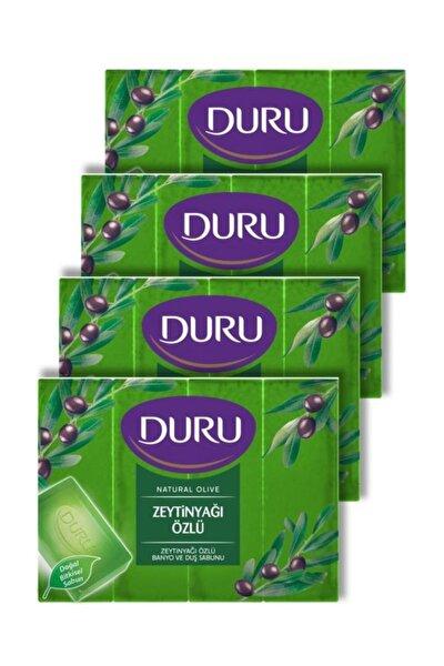 Natural Zeytinyağı Özlü Duş Sabunu 600 gr 4'lü
