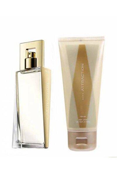 Attraction Edp 50 ml Kadın Parfüm + Vücut Losyonu 150 ml