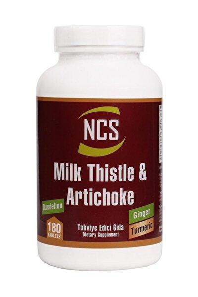 Milk Thistle Artichoke Zerdeçal Karahindiba Zencefil 180 Tablet
