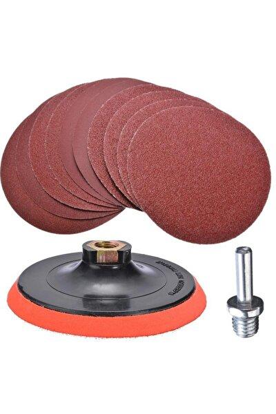 Cırt Zımpara Seti 115 mm 40-320 Kum 57 Parça
