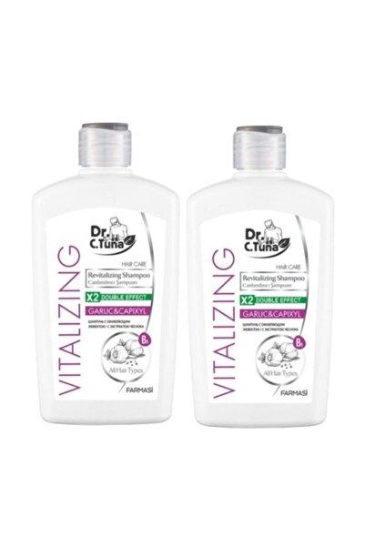 2 Adet Dr.c.tuna Vıtalızıng Sarımsaklı Şampuan 500 ml