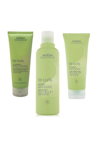 Be Curly Kıvırcık Ve Dalgalı Saçlara Özel Set