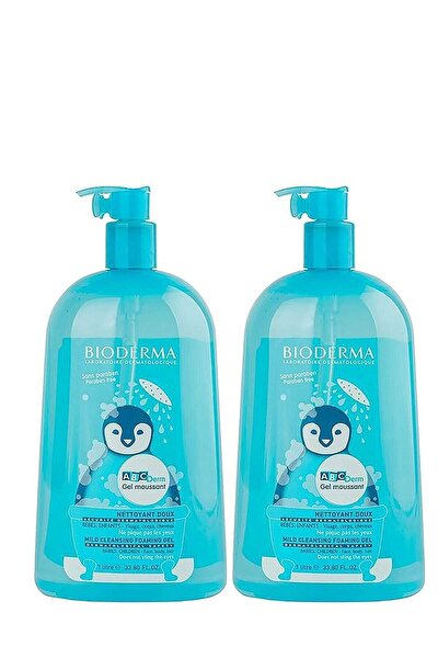 ABCDerm Foaming Cleanser 2 X 1 L