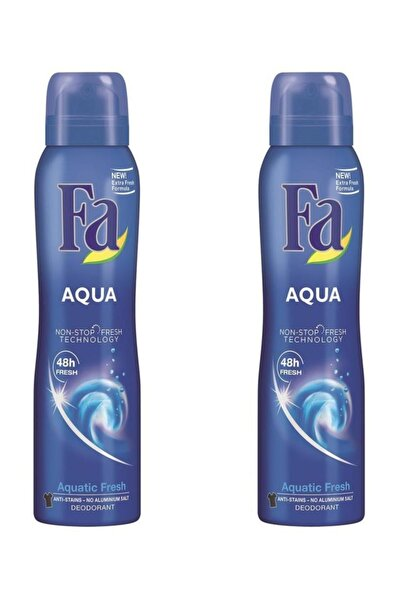 Aqua Deosprey 150 ml X 2 Adet