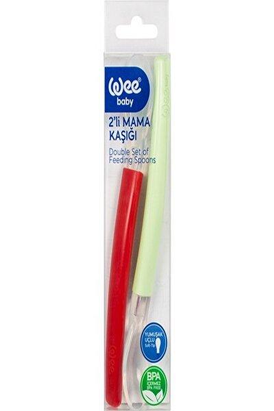 Mama Kaşığı 2'li (Kırmızı - Yeşil)