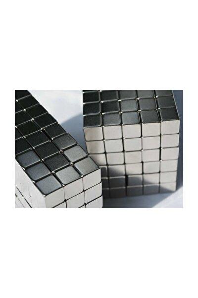 10 Adet 10x10x10 Güçlü Küp Neodyum Mıknatıs (10'lu Paket)