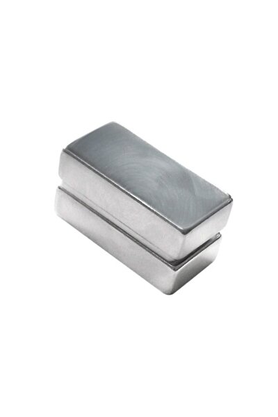 Neodyum Mıknatıs Blok 40x20x10 mm (Tekli Paket)