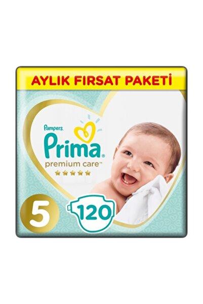 Premium Care Aylık Fırsat Beden:5 (11-18Kg) Junior 120 Adet Bebek Bezi