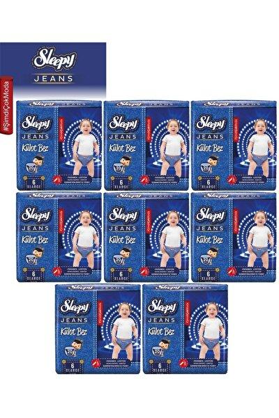 Külot Bez Jeans Jumbo Pk No:6 (15-25Kg) Xlarge 160 Adet (8Pk*20)