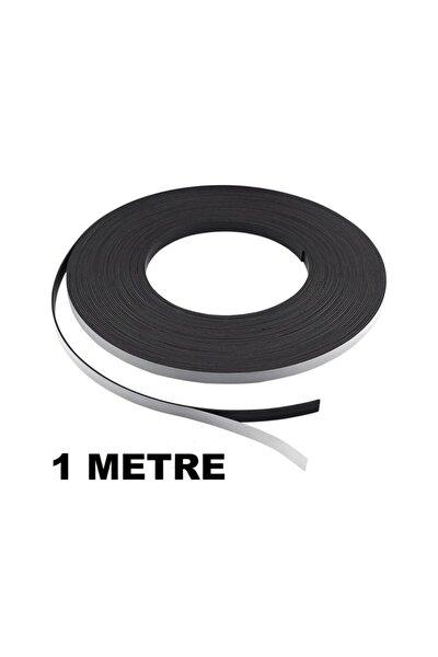 1 Metre Şerit Magnet Mıknatıs - Arkası Yapışkanlı Çıkartmalı