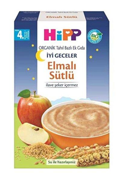 Unisex Organik Tahıl Bazlı Ek Gıda Organik Sütlü Elmalı 250 gr