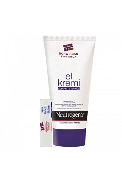 El Kremi Parfümlü + Dudak Kremi Hediye
