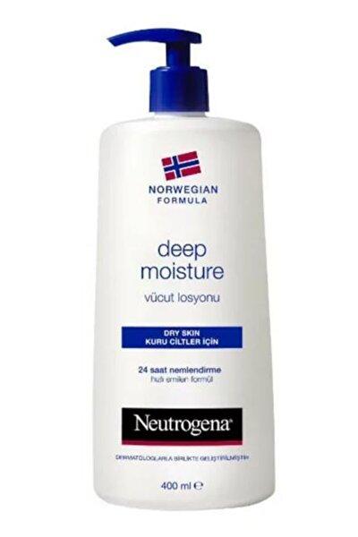 Deep Moisture Kuru Ciltler İçin Parfümlü Vücut Losyonu 400 ml