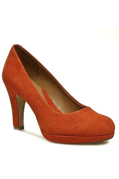 Kadın Turuncu Anıka Kendra Topuklu Ayakkabı