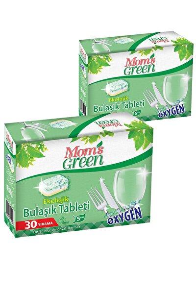 2'li Set Mom's Green Ekolojik Bulaşık Makinası Tableti 60 Tablet