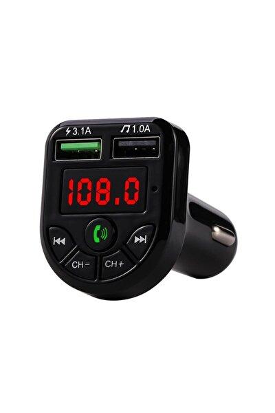 Car X8 Araç Bluetooth Fm Transmitter USB Mp3 Çakmaklık Oto Müzik Çalar Kiti