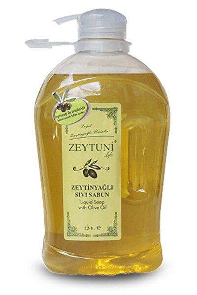 Saf Zeytinyağlı Sıvı Sabun 2,5 Litre