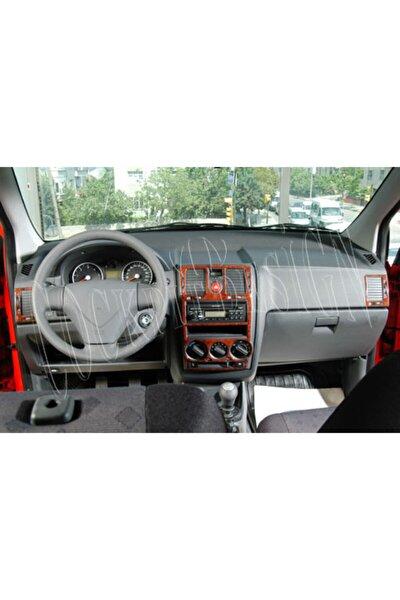 Hyundai Getz 2005 Sonrası 16 Parça Maun Kaplama Ahşap Desenli