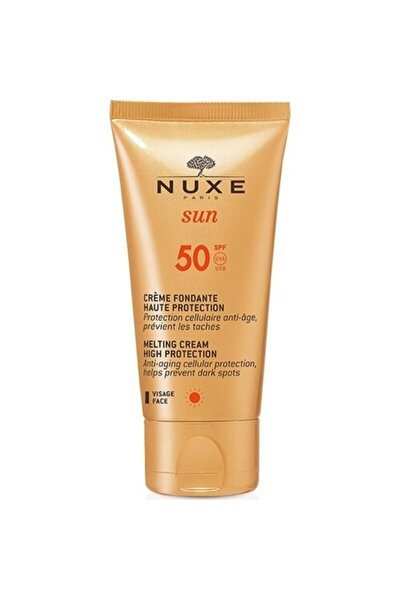 Sun Creme Fondante Visage Haute Protection Spf50 50 ml