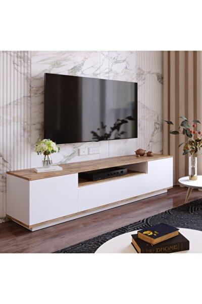Future Tv Ünitesi Fr7-aw Çam-beyaz