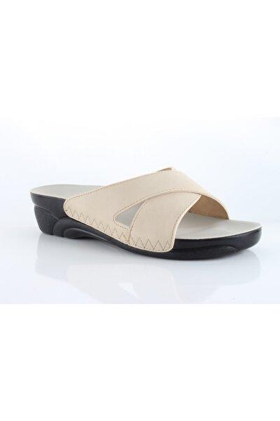 Bej Kadın Sandalet 02270