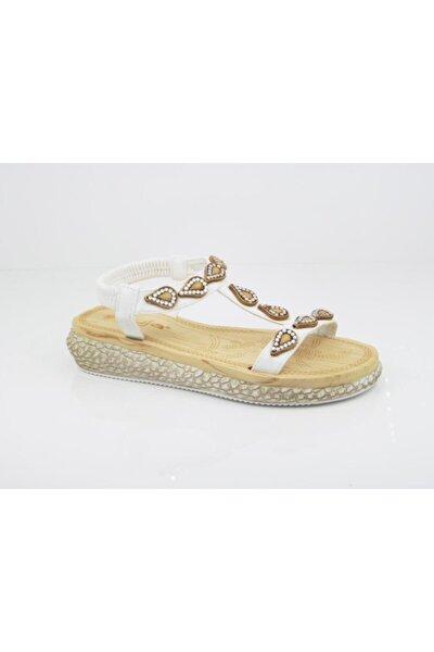 Kadın Beyaz Sandalet 209 8