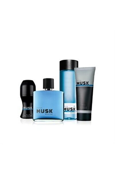 Musk Marine Edt 75 ml Erkek Parfüm Seti