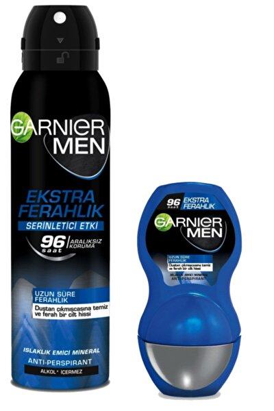 Deodorant Rollon Seti Erkeklere Özel Men Ekstra Ferahlık Roll-on+men Ekstra Ferahlık Aerosol