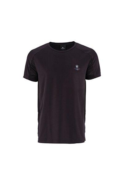 BASIC ARM DETAIL T-SHIRT Siyah Erkek T-Shirt 100568757