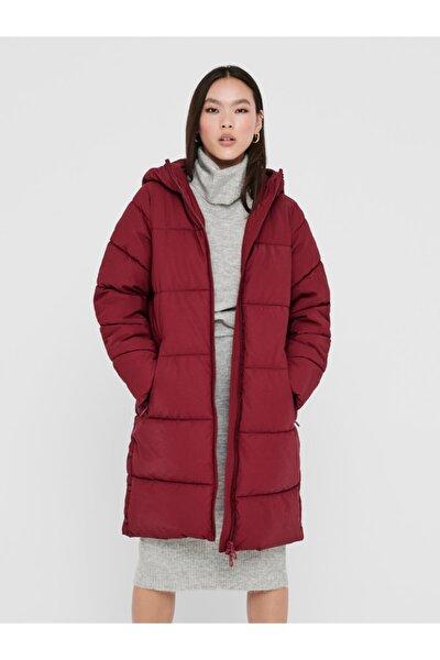 Sienna Long Puffer Coat Otw Kadın Kırmızı Mont 15208398-17
