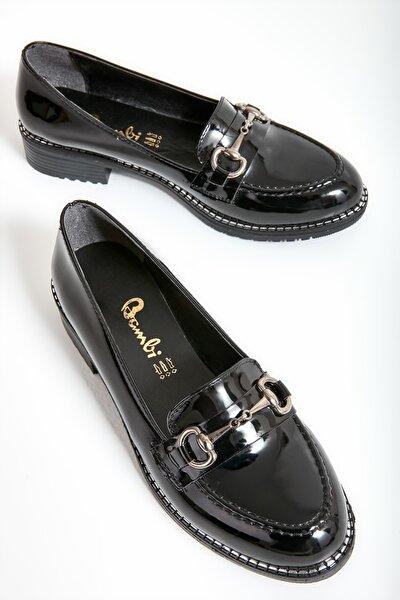 Siyah Kadın Loafer Ayakkabı M07782341