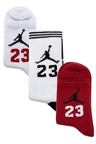 Jordan Desenli Çorap Seti 3 'lü