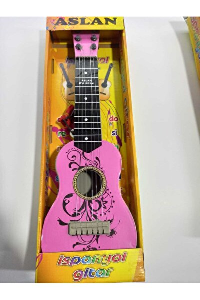 Aslan Toys 50 Cm Oyuncak Ispanyol Gitar (Poşet Ambalajli )