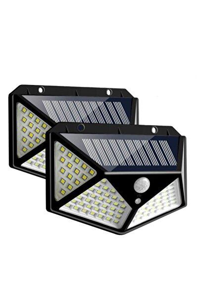 Güneş Enerjili Hareket Sensörlü Ip65 Suya Dayanıklı 100 Led Lamba