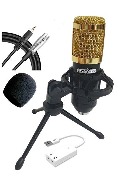 Bm800 Sy Mini Tripodlu Youtuber Mikrofon Ses Kartlı