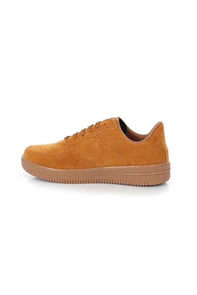 Cool Air Taba Süet Sneaker Spor Ayakkabı