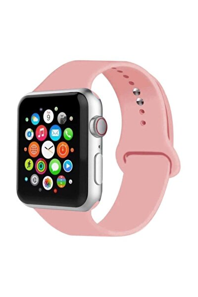 Apple Watch Kordon 2 3 4 5 6 Se Seri 42 Mm Ve 44 Mm Silikon Kordon Kayış