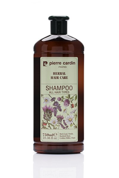 Herbal Shampoo For All Hair Types 750 ml Bitkisel Şampuan (Tüm Saç Tipleri)