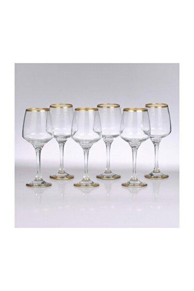 Altın 12 Kişilik Ayaklı Su Bardağı