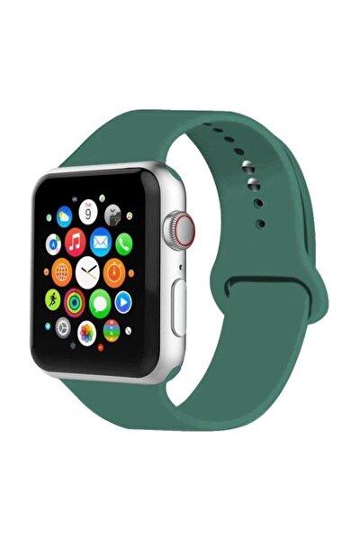 Apple Watch Kordon 2 3 4 5 6 Se Seri 42 Mm Ve 44 Mm Silikon Kordon Kayış Uyumlu