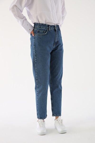 Mavi Rahat Kalıp Kot Pantolon