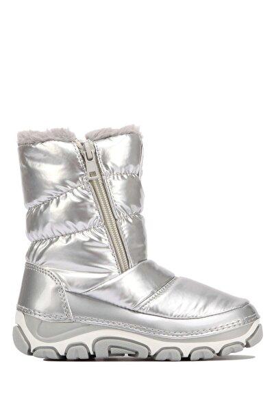 Kız Çocuk Beyaz Gümüş  Pablo Kar Botu 21-29