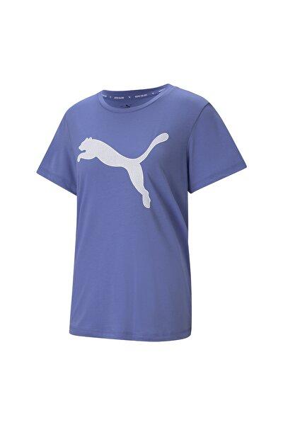 EVOSTRIPE TEE Lila Kadın T-Shirt 101085570